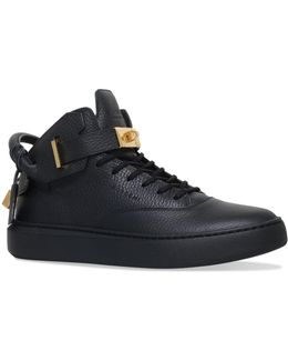 Handle Mid-top Sneakers