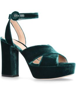 Velvet Roxy Platform Sandals
