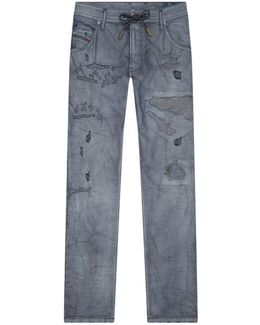 Krooley Distressed Jogg Jeans