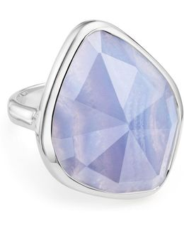 Siren Nugget Blue Lace Agate Cocktail Ring