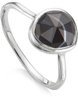 Siren Black Onyx Stacking Ring