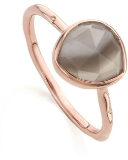 Siren Grey Agate Stacking Ring