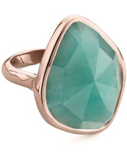 Siren Nugget Amazonite Cocktail Ring