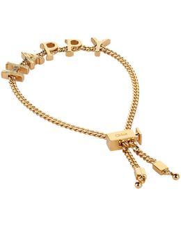 Happy Adjustable Bracelet