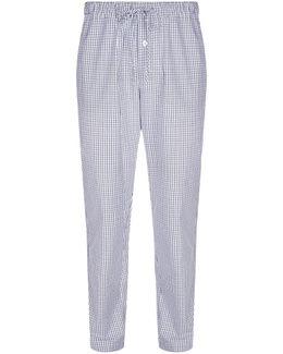 Woven Check Pyjama Bottoms