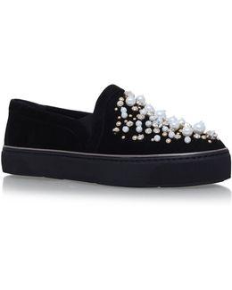 Decor Embellished Skate Shoes