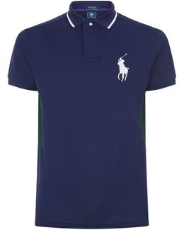 Large Logo Polo Shirt