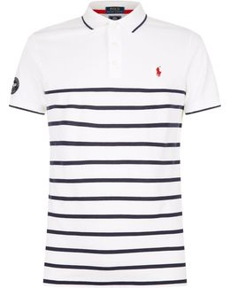 Wimbledon Striped Polo Shirt