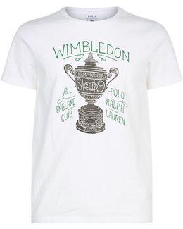 Wimbledon Trophy Motif T-shirt