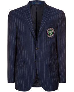 Wimbledon Umpire Pinstripe Blazer