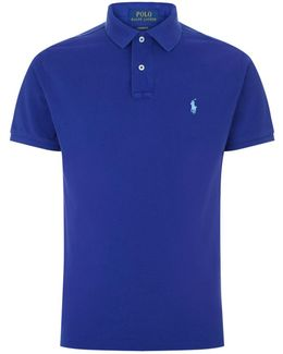 Custom Fit Cotton Polo Shirt
