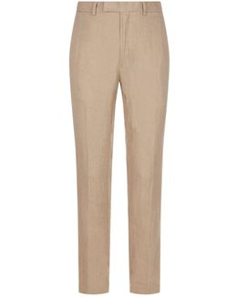 Slim-fit Linen Chinos