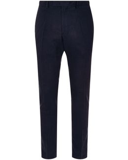 Slim-fit Linen Chinos
