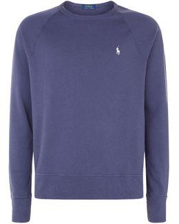 Cotton Logo Terry Sweatshirt