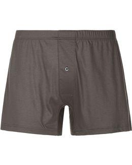 Cotton Jersey Boxer Shorts
