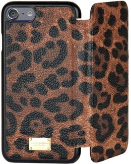 Leopard Iphone 7 Cover With Flap
