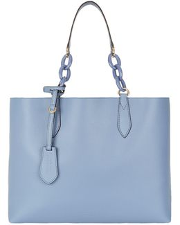 Reversible Medium Top Handle Bag