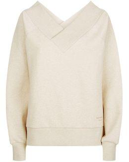 Off-the-shoulder Sweatshirt