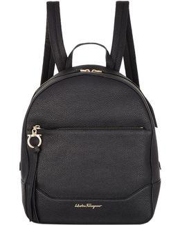 Medium Samy Leather Backpack