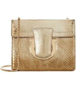 Small Thalia Python Clutch Bag