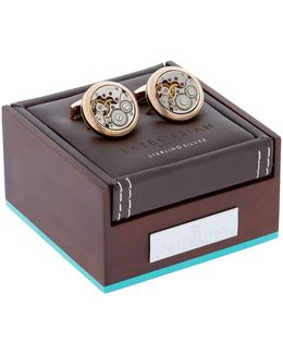 Signature Vintage Skeleton Cufflinks