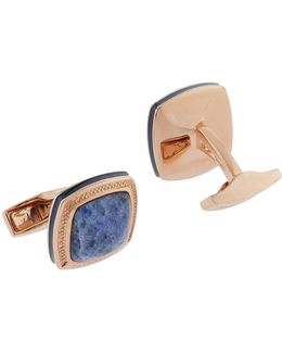 Enamel Square Cufflinks