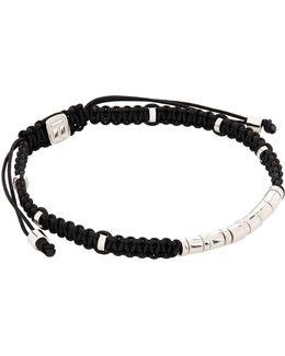 Macram Disc Bracelet