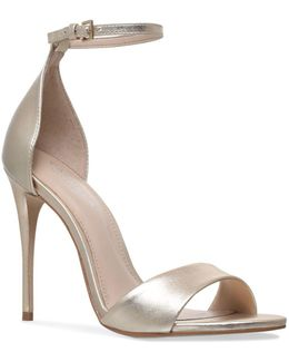Ankle-strap Glimmer Sandals