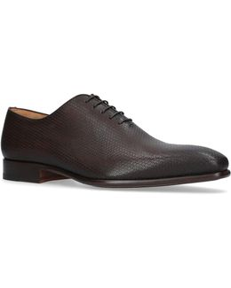 Printed Wholecut Oxford Shoes
