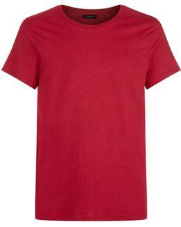 Cole Stitch Detail T-shirt