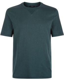 Shawn Ribbed Neck T-shirt