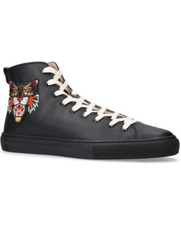 Angry Cat Ufo High-top Sneakers