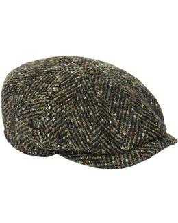 Herringbone Six-pence Cap