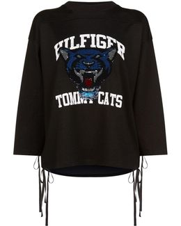 Sequin Tomcats Sweater