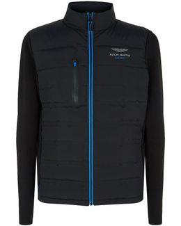 Quilted Front Zip Jacket