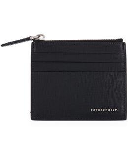 Zip Pocket Card Holder