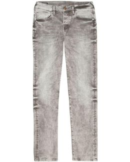 Rocco Relaxed Skinny Washed Jeans