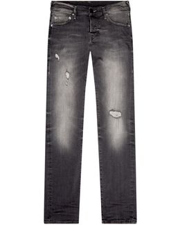 Rocco Relaxed Skinny Distressed Jeans