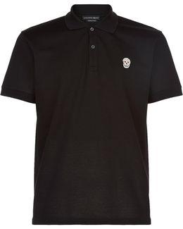 Skull Badge Polo Shirt