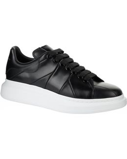 Pelle S.gomma Leather Sneakers