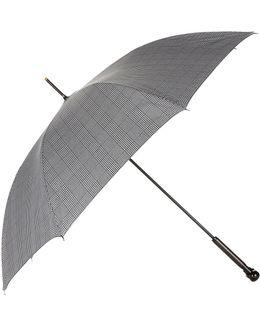 Prince Of Wales Skull Handle Umbrella