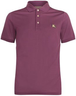 Equestrian Knight Hardware Cotton Polo Shirt