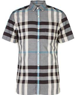 Moore Plaid Cotton Shirt