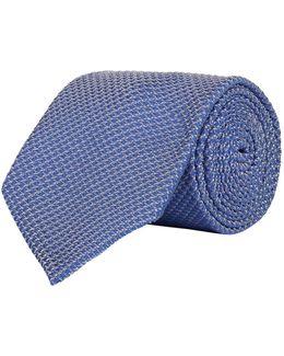Textured Zig Zag Tie