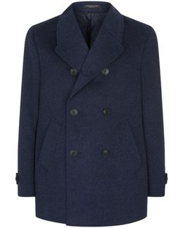 Cashmere Pea Coat