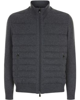 Knit Down Jacket