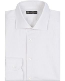 Iridescent Woven Cotton Shirt