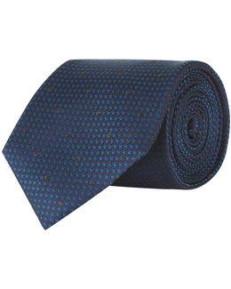 Contrast Dot Tie