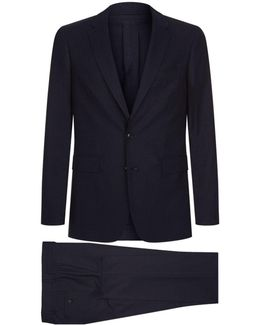 Single-breast Wool Suit