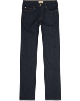 Straight-fit Selvedge Jeans